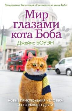 «Мир глазами кота Боба. Новые приключения человека и его рыжего друга» Джеймс Боуэн